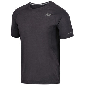 Zone3 Power Burst T-shirt Heren, charcoal marl/gun metal